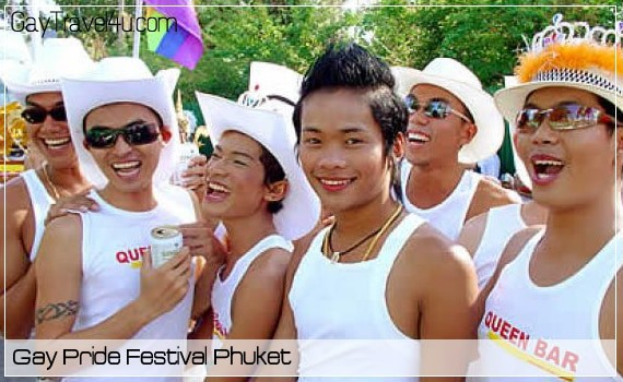 Gay Pride Festival Phuket April 23 – 28