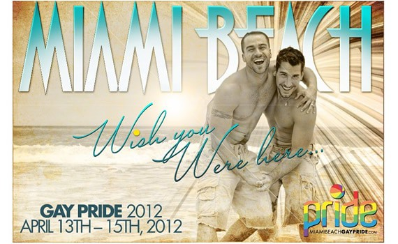 Miami Beach gay pride April 13 – 15
