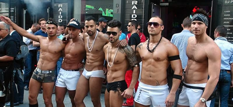Raidd gay bar Paris