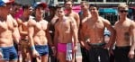 Beefcake boys at Cape Town Pride