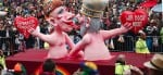 The Carnival Parade in Cologne