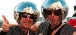 Men in costume at Carnival Cologne