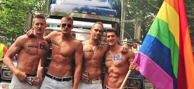 Hot guys at Gay Pride Berlin