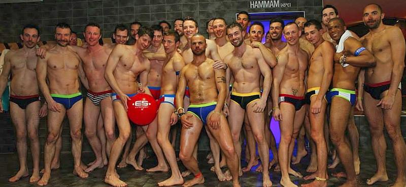 European Snow Pride Pool Party