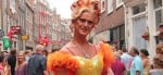 Costumes in Reguliersdwarsstraat during Kingsday