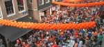 Reguliersdwarsstraat Gay bars during Kingsday