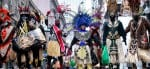 Costumes at New Orleans Carnival