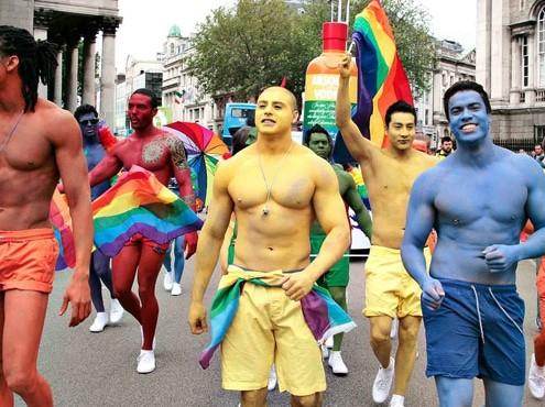 Dublin Pride participants