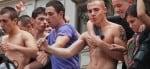 Dancers at Paris Gay Pride Parade