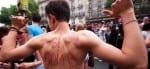 Hot guys at Paris Gay Pride Parade