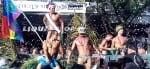 Gay muscle dancers at Key West Pride