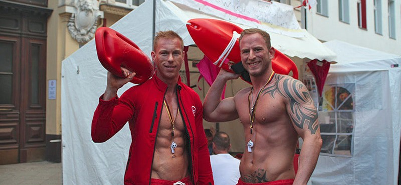 Stadtfest Berlin hot guys