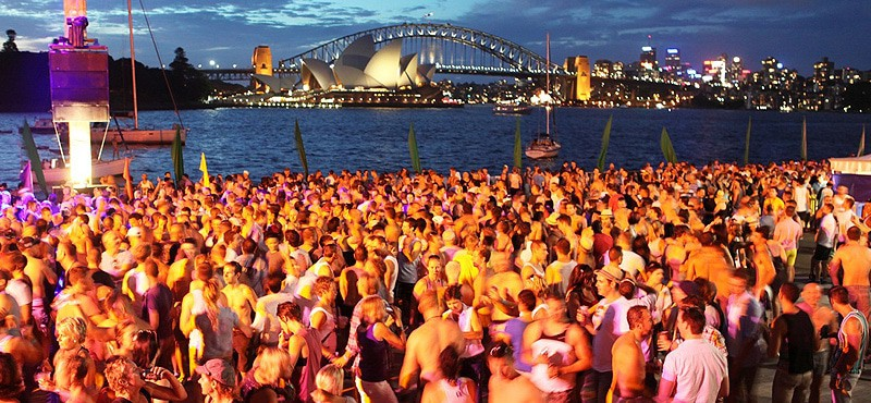 Harbour Party Sydney Mardi Gras