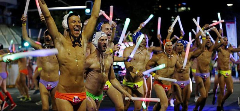 Dancers at Sydney Mardi Gras