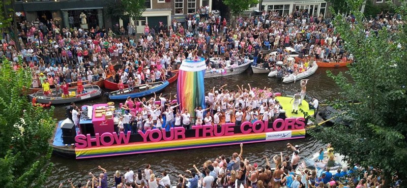 Amsterdam Gay Pride is one of the most unique in the world – taking ...: www.gaytravel4u.com/event/amsterdam-gay-pride