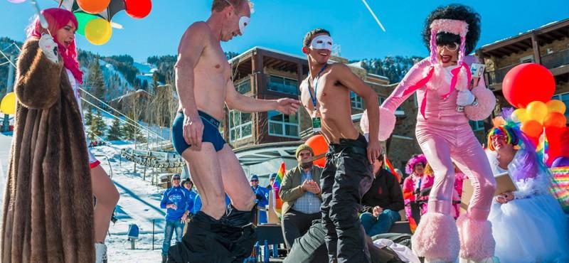 Aspen Gay Ski Week Sexy shows