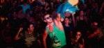 Montreal Black en Blue Festival Partygoer