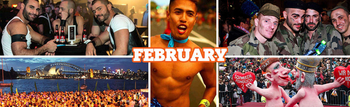 Gay Events in February
