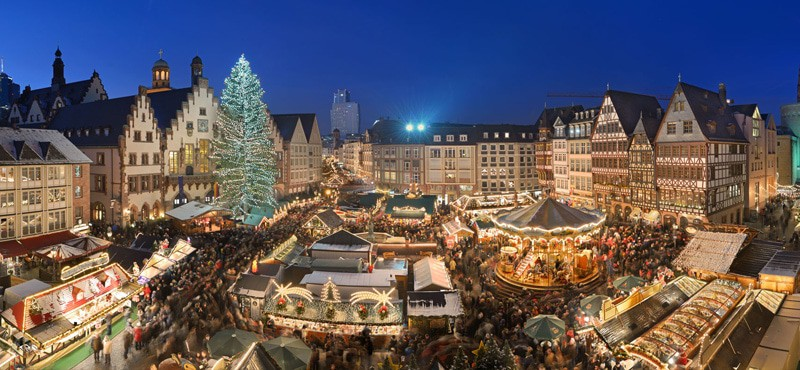 The Frankfurt Gay Christmas Market Have A Very Pink