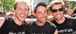 Montreal Pride Parade partygoers