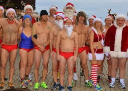 Holly Folly Provincetown Speedo run