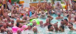Pool parties at Maspalomas Bear Carnival