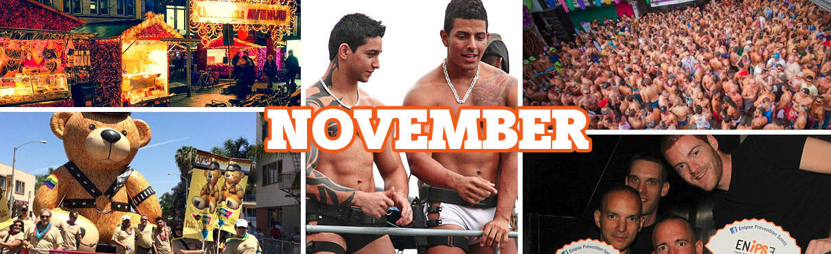 Gay events in November
