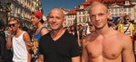 Hot guys at Prague Gay Pride