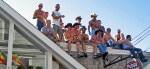 Provincetown Carnival Parade Spectators
