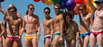 Hot guys at Vancouver Gay Pride