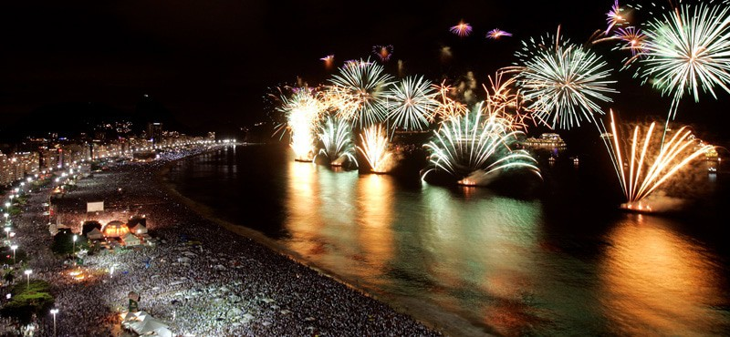 Reveillon New Years Eve Rio
