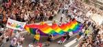 Pride parade in Stockholm