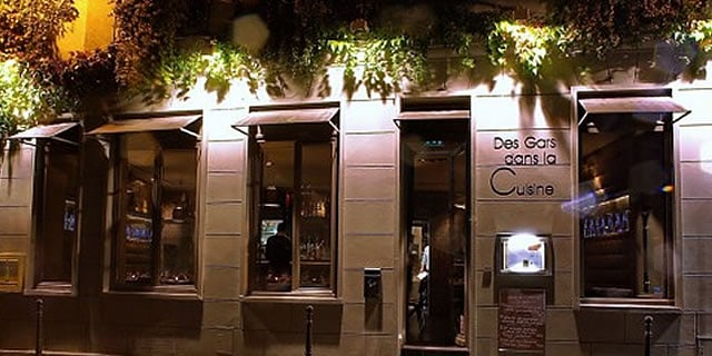 Paris Gay Restaurants