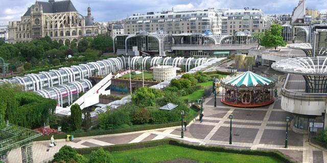 Paris Les Halles