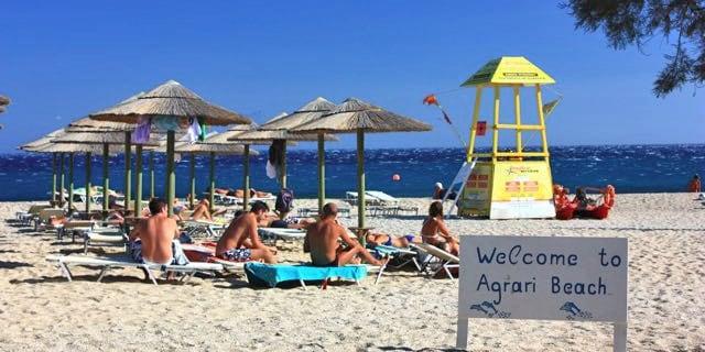 Agari Beach Mykonos