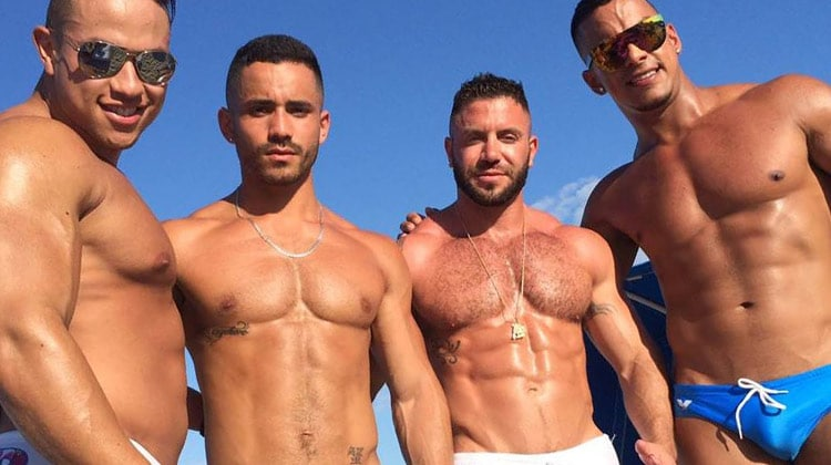 Gay beaches in Mykonos