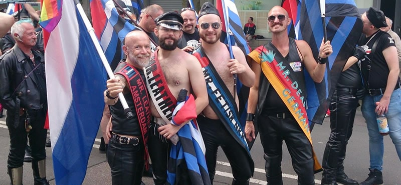 Amsterdam Leather Pride 2018 The Biggest Leather Party In
