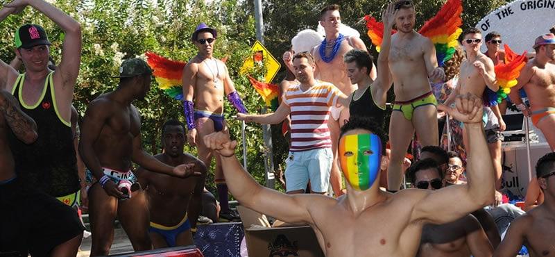 dallas gay pride march