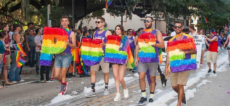 a social event in Gay Orlando