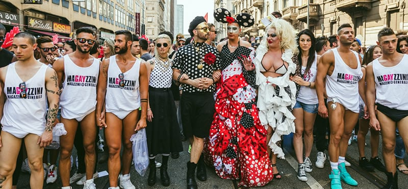 Milano pride is a parade and festival held at the end of june for Gay club milan