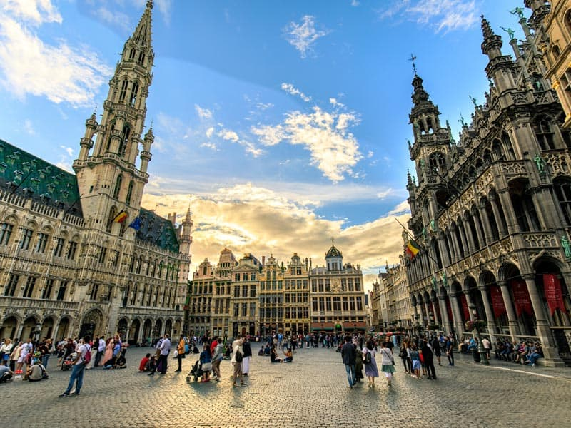 Brussels gay city guide