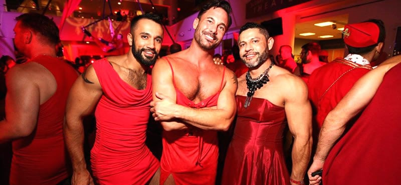 Red Dress Party San Diego 2021 This is