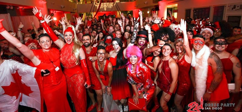 Red Dress Party San Diego 2020 This is