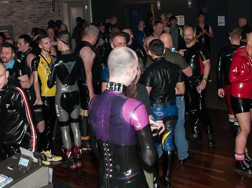 Mr. International Rubber & The Rubber Blowout Weekend