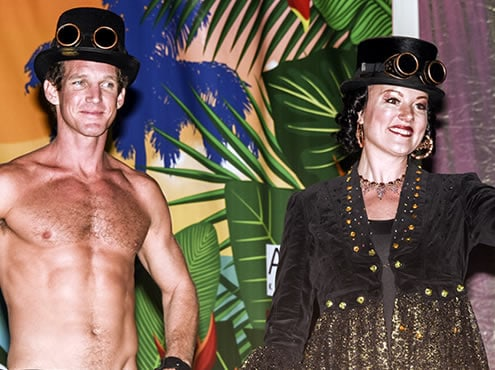 The Key West Annual Headdress Ball