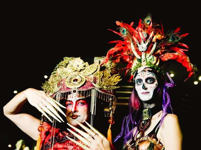 The headdress ball Key West