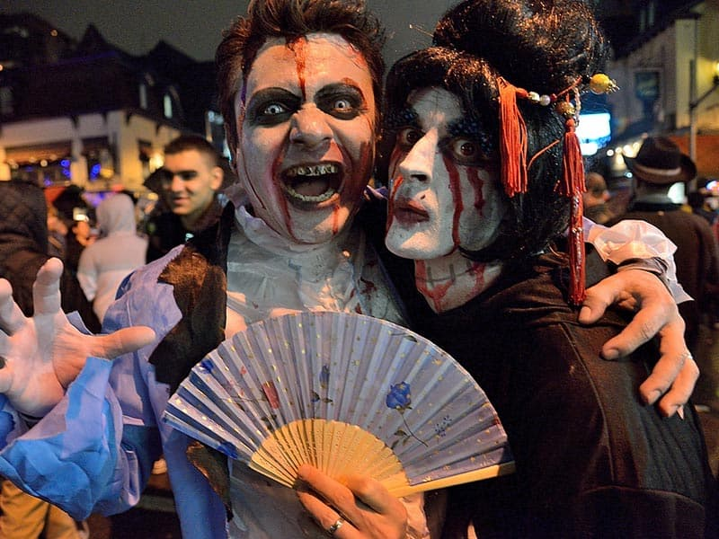 Halloween on Church Gay Toronto