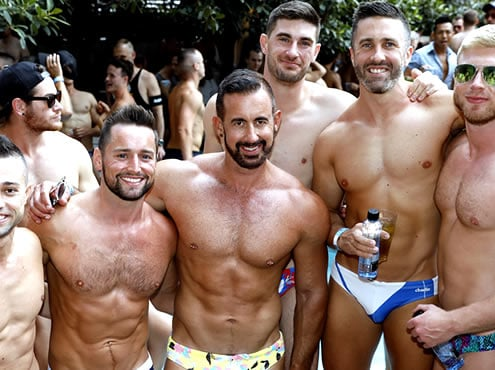 Kiki - The Sydney Gay Day Pool Play
