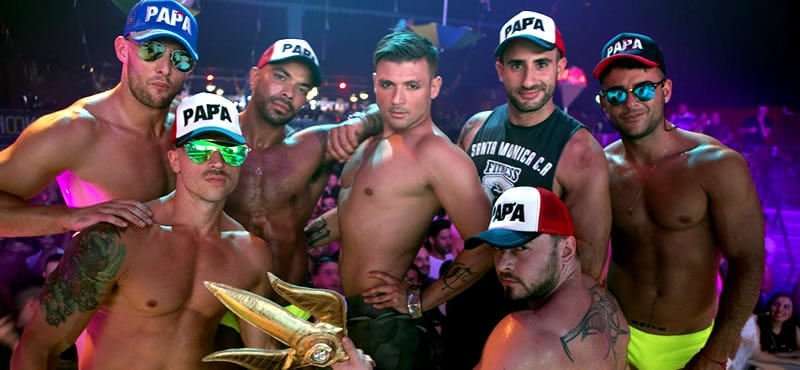 The Week, the legendary Brazillian Gay Circuit Party