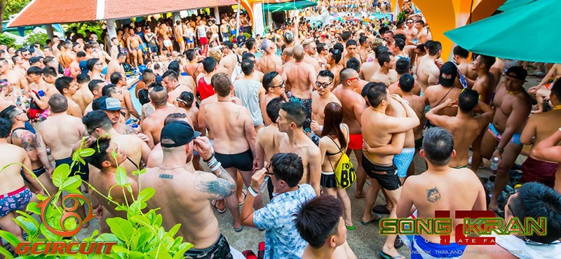 Boy Pool Party Bangkok